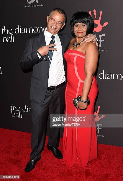 Ronald Fenty and Monica Braithwaite attend The Inaugural Diamond Ball presented by Rihanna and The Clara Lionel Foundation at The Vineyard on...