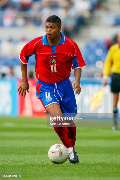 Ronald Gomez of Costa Rica during the World Cup match between China and Costa Rica at Gwangju World Cup Stadium in South Korea on june 4th 2002