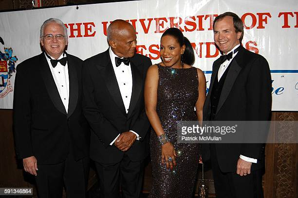 Ronald Harford Harry Belafonte Sheryl Lee Ralph and Daniel Petri attend The 2005 University of the West Indies Gala The Legacy Continues at Cipriani...