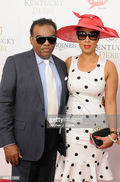 Ronald Isley and Kandy Johnson Isley attend 140th Kentucky Derby at Churchill Downs on May 3, 2014 in Louisville, Kentucky.