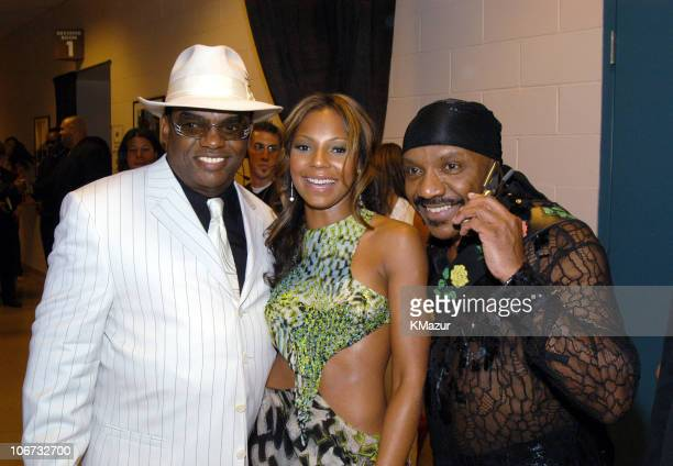 Ronald Isley Ashanti and Ernie Isley during VH1 Divas Duets A Concert to Benefit the VH1 Save the Music Foundation Audience and Backstage at MGM...