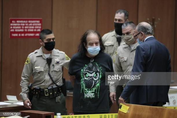 Ronald Jeremy Hyatt appears in court at Clara Shortridge Foltz Criminal Justice Center on June 23 2020 in Los Angeles California Hyatt also known as...