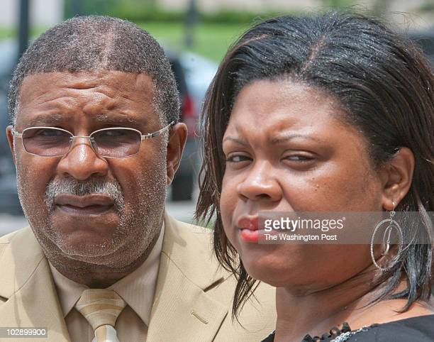 Ronald Jones Sr and his daughter LaQuisha Jones Campbell attend the trial for Ronald Jones Jr who was murdered 20 years ago Ronald Jones Senior spent...