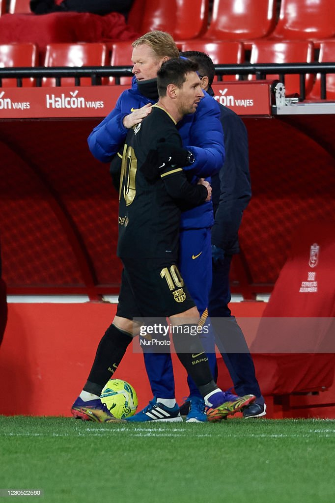 Granada CF v FC Barcelona - La Liga Santander : News Photo