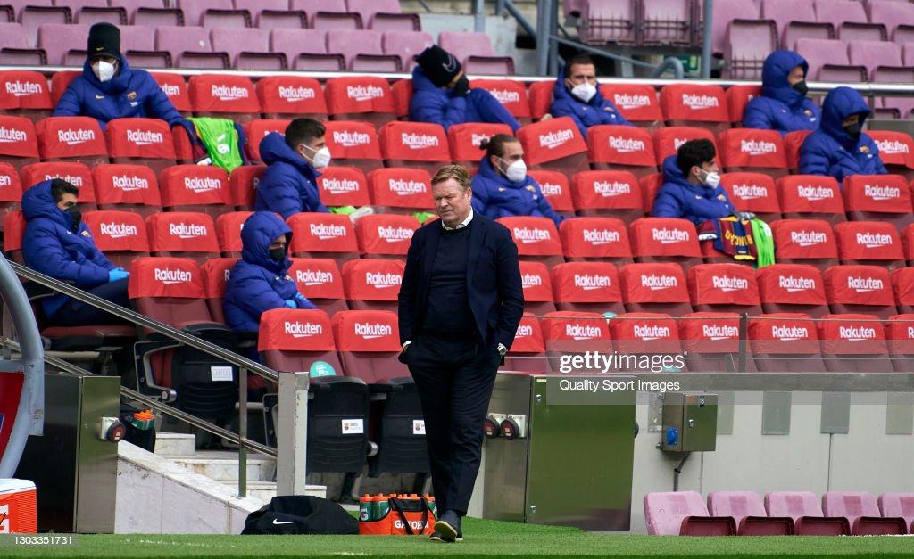 FC Barcelona v Cadiz CF - La Liga Santander : News Photo