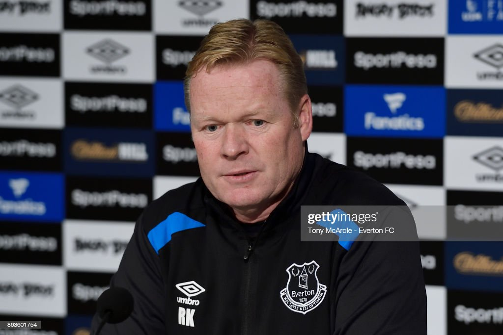 Everton Training and Press Conference : News Photo