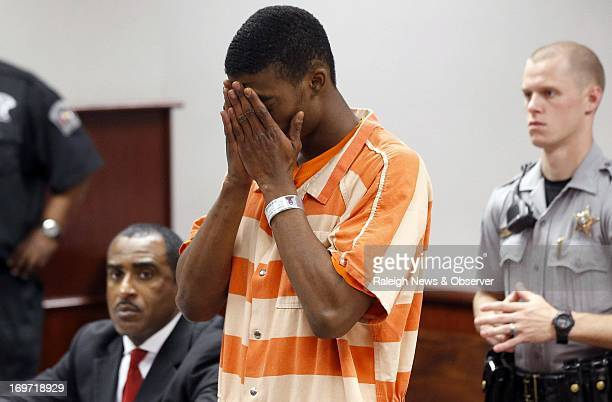 Ronald Lee Anthony makes his first appearance at the Wake County Courthouse Wednesday May 22 in Raleigh North Carolina after being charged with the...