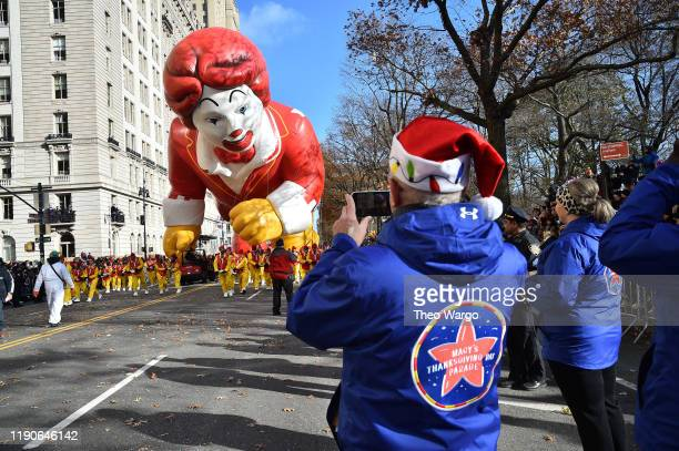 Ronald McDonald at the 93rd Annual Macy's Thanksgiving Day Parade on November 28 2019 in New York City