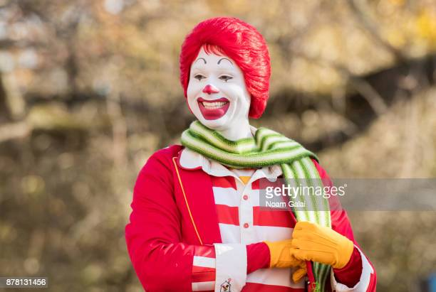 Ronald McDonald attends the 91st Annual Macy's Thanksgiving Day Parade on November 23 2017 in New York City
