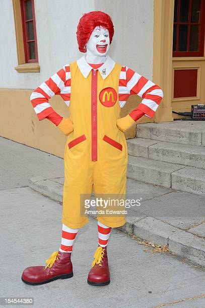 Ronald McDonald attends the Camp Ronald McDonald For Good Times 20th Annual Halloween Carnival at Universal Studios Backlot on October 21 2012 in...