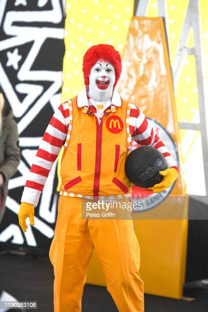 Ronald McDonald celebrate McDonald's All American Games with B/R x NC during Pro Basketball's Biggest Weekend at The Underground on February 17 2019...