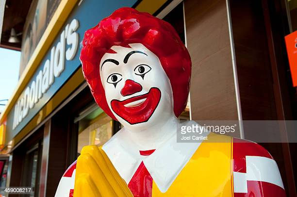 mcdonald's restaurant - mcdonald's stock pictures, royalty-free photos & images