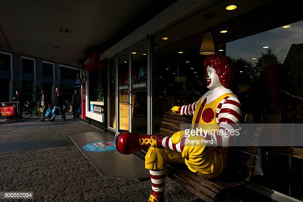 Ronald McDonald statue outside an McDonald's outlet Ronald McDonald is a clown character used as the primary mascot of the McDonald's fastfood...