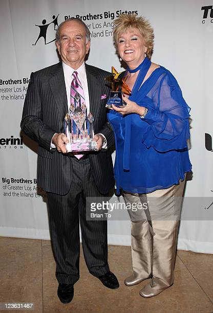 Ronald N Tutor and Mary Willard attend Big Brothers Big Sisters 2010 Rising Stars Gala at The Beverly Hilton hotel on October 29 2010 in Beverly...