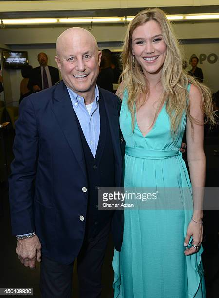 Ronald Perelman and Joss Stone attend Apollo Spring Gala and 80th Anniversary Celebration at The Apollo Theater on June 10 2014 in New York City