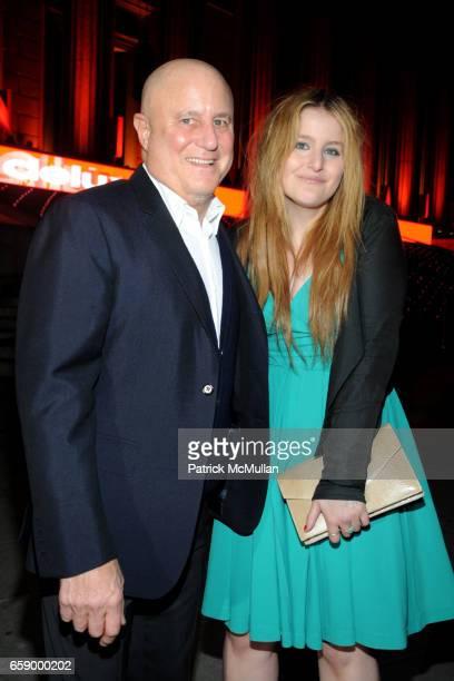 Ronald Perelman and Samantha Perelman attend VANITY FAIR Tribeca Film Festival Opening Night Dinner Hosted by ROBERT DE NIRO GRAYDON CARTER and...