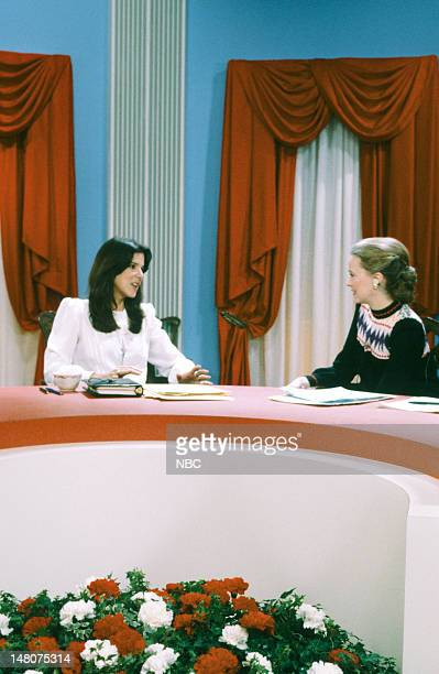 NBC NEWS Ronald Reagan First Presidential Inauguration Pictured First daughter Patti Davis NBC News' Jane Pauley covering the first inauguration of...