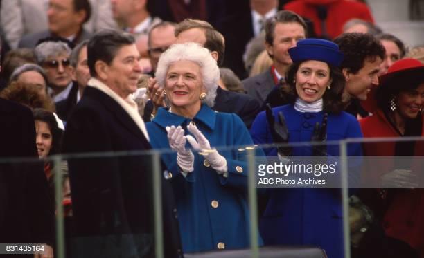 Ronald Reagan Marilyn Quayle and Barbara Bush