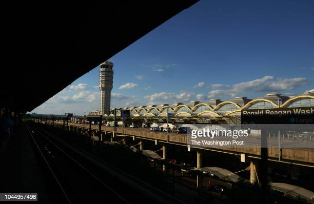 Ronald Reagan National Airport in Arlington VA June 4 2018 The airport is soon undergoing a redesign of its security checkpoints which will include...