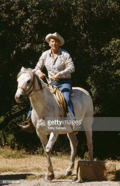 Ronald Reagan on His Ranch