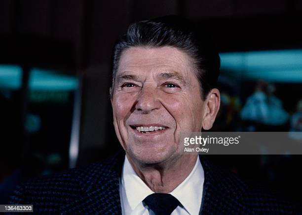 Ronald Reagan photographed in Miami Beach just months before he became the 40th president of the US He served two four yearterms