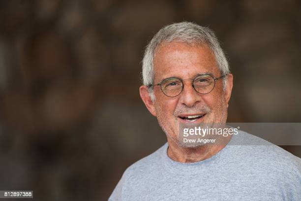 Ronald 'Ron' Meyer vice chairman of NBCUniversal arrives on the first day of the annual Allen Company Sun Valley Conference July 11 2017 in Sun...
