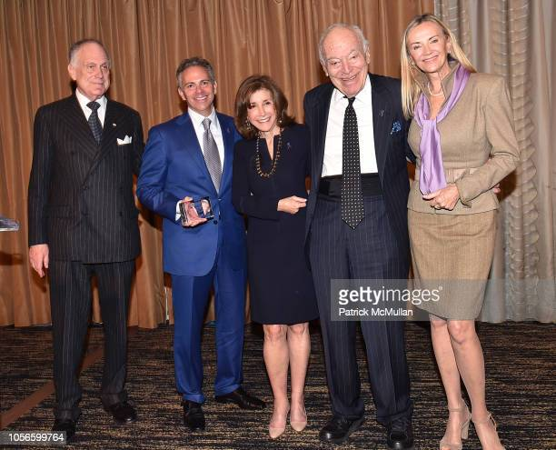 Ronald S Lauder David Weinreb Alice Shure Leonard A Lauder and Bonnie Pfeifer Evans attend Alzheimer's Drug Discovery Foundation's Ninth Annual Fall...