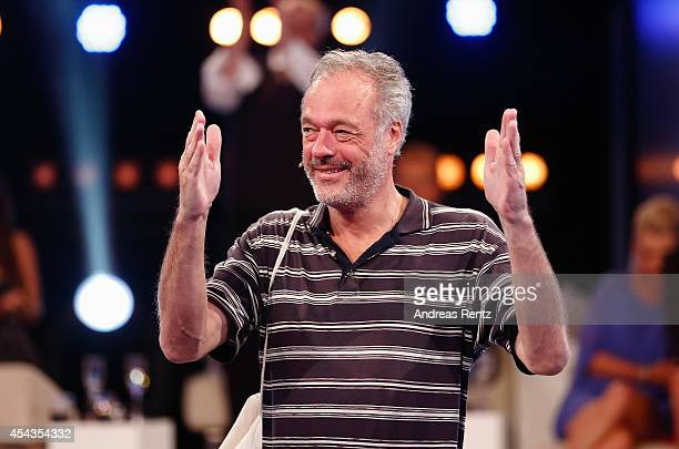 Ronald Schill attends the Promi Big Brother finals at Coloneum on August 29 2014 in Cologne Germany