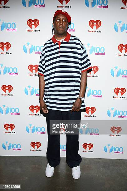 Ronald Slim Williams attends the Y100's Jingle Ball 2012 at the BBT Center on December 8 2012 in Miami