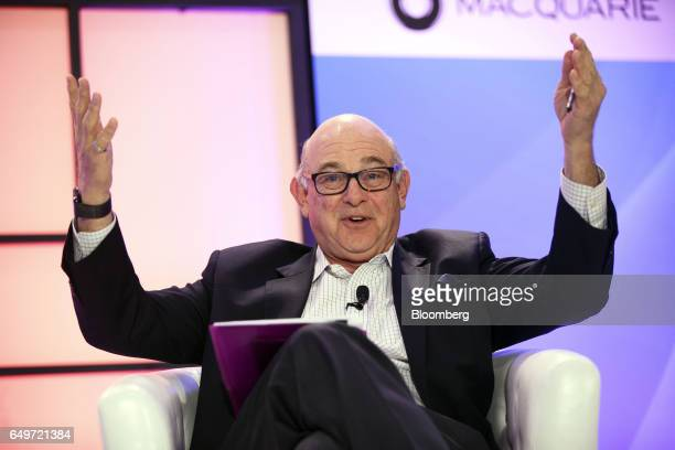 Ronald Sugar chairman emeritus of Northrop Grumman Corp speaks during the Montgomery Summit in Santa Monica California US on Wednesday March 8 2017...