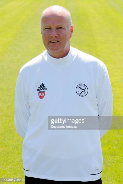 Ronald van Bruggen of Almere City during the Photocall Almere City at the Yanmar Stadium on July 16 2018 in Almere Netherlands