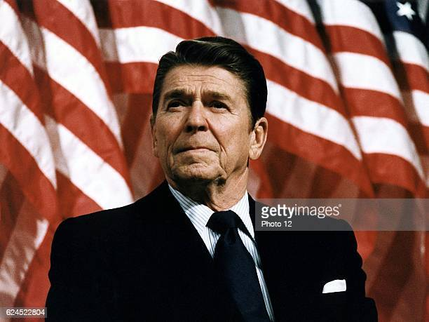 Ronald Wilson Reagan, 40th President of the United States and 33rd Governor of California .