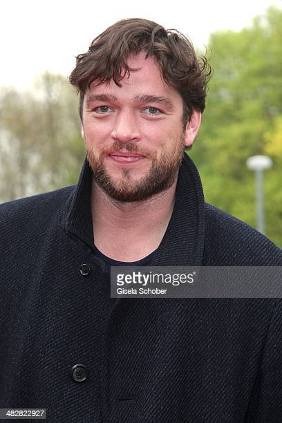 Ronald Zehrfeld attends the reception for the 50th Grimme Award at Theater der Stadt Marl on April 4 2014 in Marl Germany
