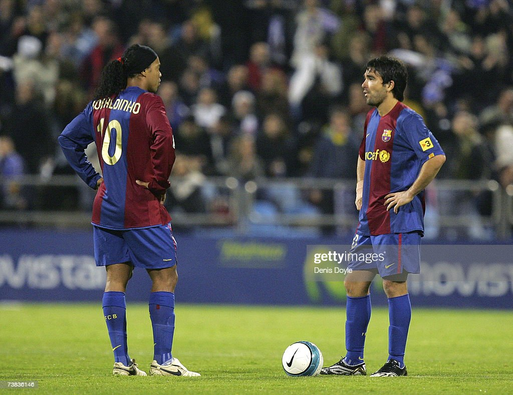 Real Zaragoza v Barcelona : News Photo