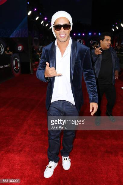Ronaldinho attends The 18th Annual Latin Grammy Awards at MGM Grand Garden Arena on November 16 2017 in Las Vegas Nevada