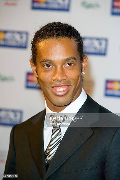 Ronaldinho during FIFPRO World XI Player Awards at the BBC Television Centre in London United Kingdom