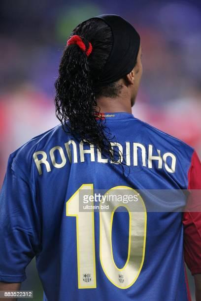 Ronaldinho Mittelfeldspieler FC Barcelona Brasilien
