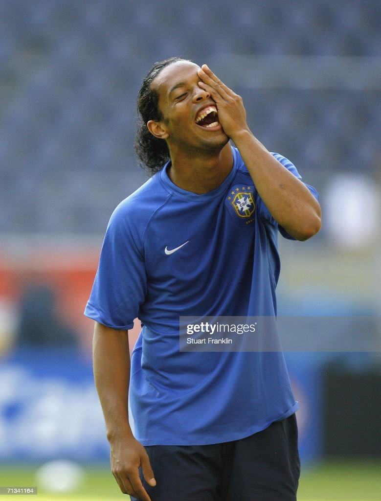 Brazil Training - FIFA World Cup 2006