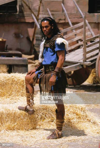 Ronaldinho on set during the making of the Pepsi football commercial 'Pepsi Foot Battle' held on July 4 2003 in Madrid Spain