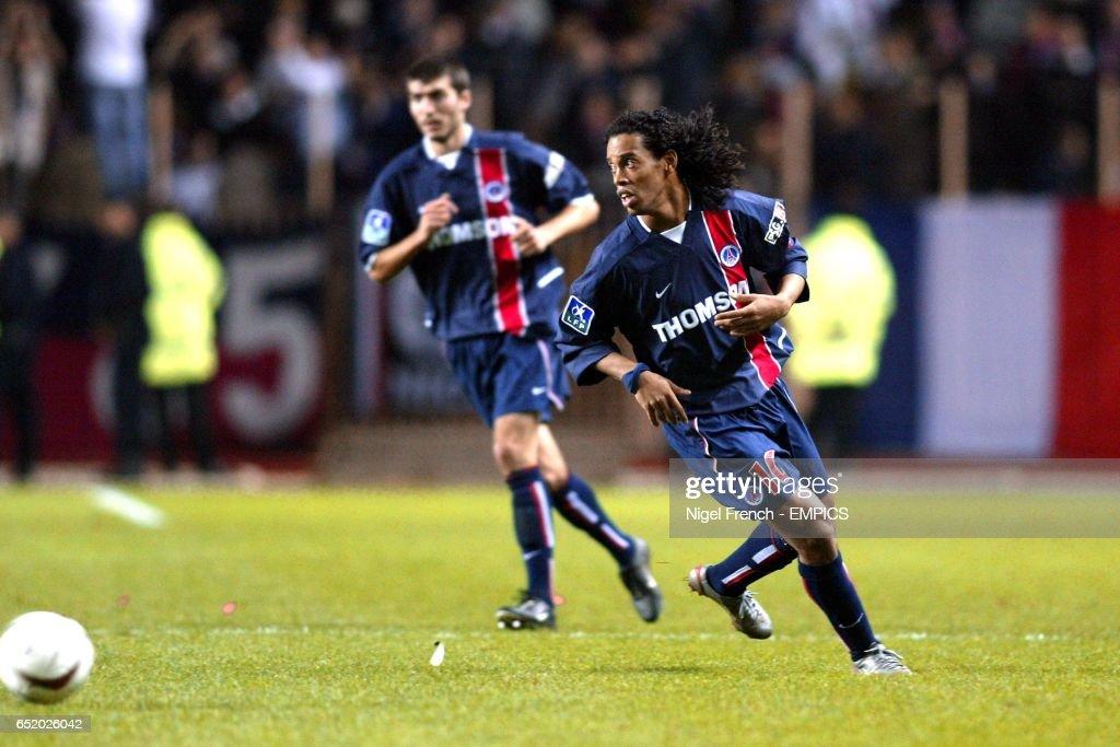 Soccer - French Premiere Division - Monaco v Paris Saint Germain : News Photo