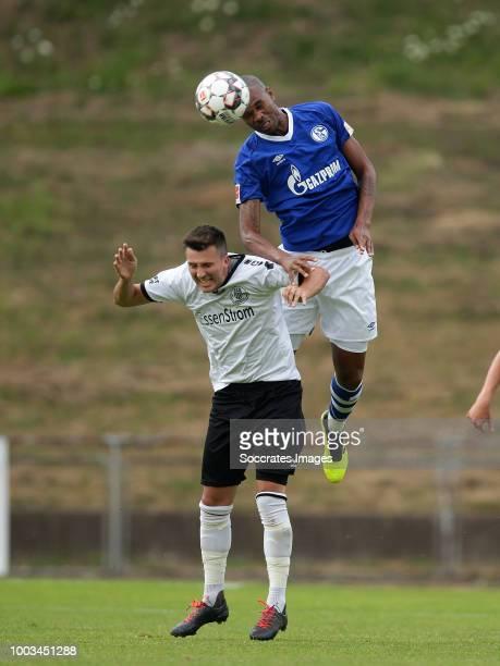 Ronaldo Aparecido Naldo Rodrigues of Schalke 04 during the Club Friendly match between Schalke 04 v Schwarz Weiss Essen at the Uhlenkrugstadion on...