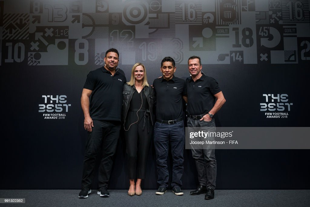 ¿Cuánto mide Jorge Campos? (El Brody) - Real height Ronaldo-lindsay-tartly-snow-jorge-campos-and-lothar-matthaus-pose-picture-id991322352