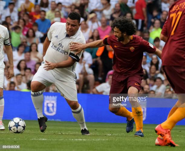 Ronaldo Luís Nazário de Lima Real Madrid's in action during the Corazon Classic Match 2017 'Heartbeats for Africa' between legends of Real Madrid and...