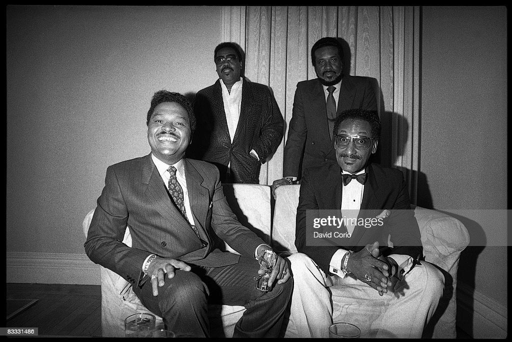 The Four Tops Portrait : News Photo