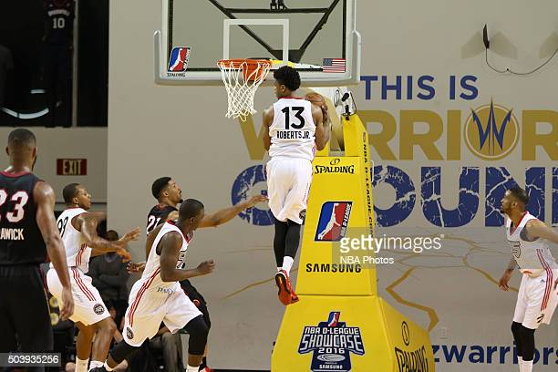 CRUZ CA JANUARY 7 Ronaldo Roberts of the Raptors levitates for a rebound against the Sioux Falls Skyforce during an NBA DLeague game on JANUARY 7...