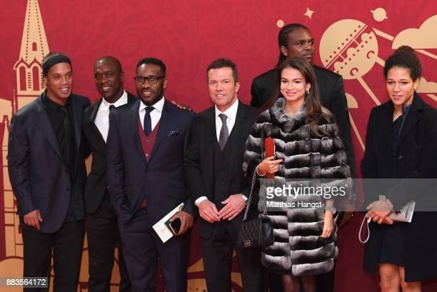 Ronalinho Clarence Seedorf Jay Jay Okocha Lothar Matthaeus Nwankwu Kanu Anastasia Klimko Celia Sasic all arrive prior to the Final Draw for the 2018...