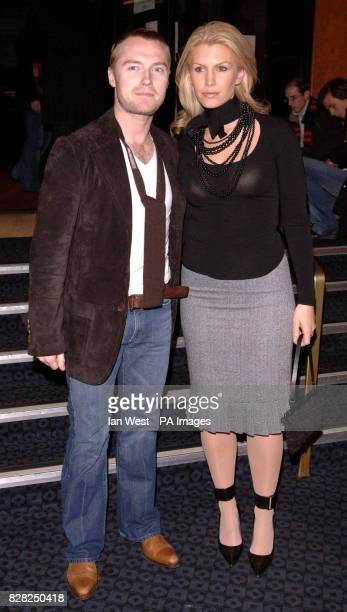 Ronan and Yvonne Keating at the VIP preview screening of 'A Different Story' a documentary about George Michael's life at the Curzon Mayfair central...