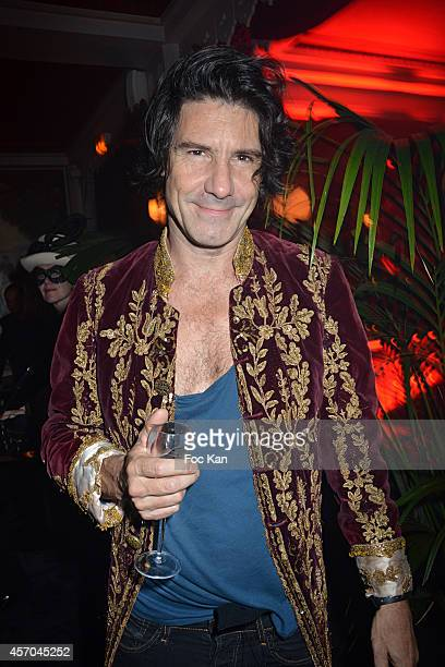 Ronan Chastellier attends the Marc Dorcel 35th Anniversary Masked Ball at the Chalet des Iles on October 10 2014 in Paris France
