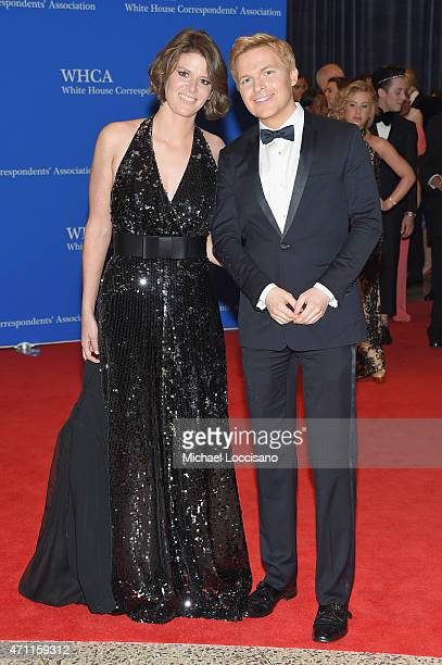 Ronan Farrow and a guest attend the 101st Annual White House Correspondents' Association Dinner at the Washington Hilton on April 25 2015 in...