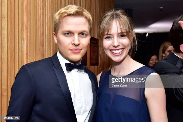 Ronan Farrow and Emily Nestor attend the 2018 TIME 100 Gala at Jazz at Lincoln Center on April 24 2018 in New York City